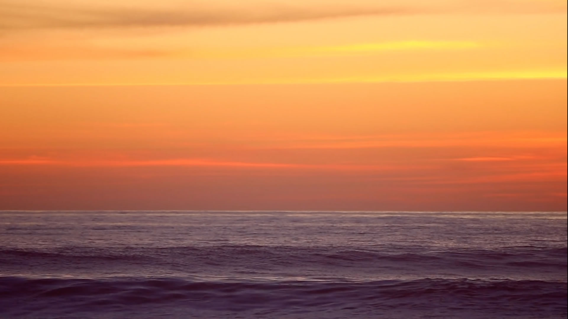 Sunset Over Waves Background Video Loop Musictruth