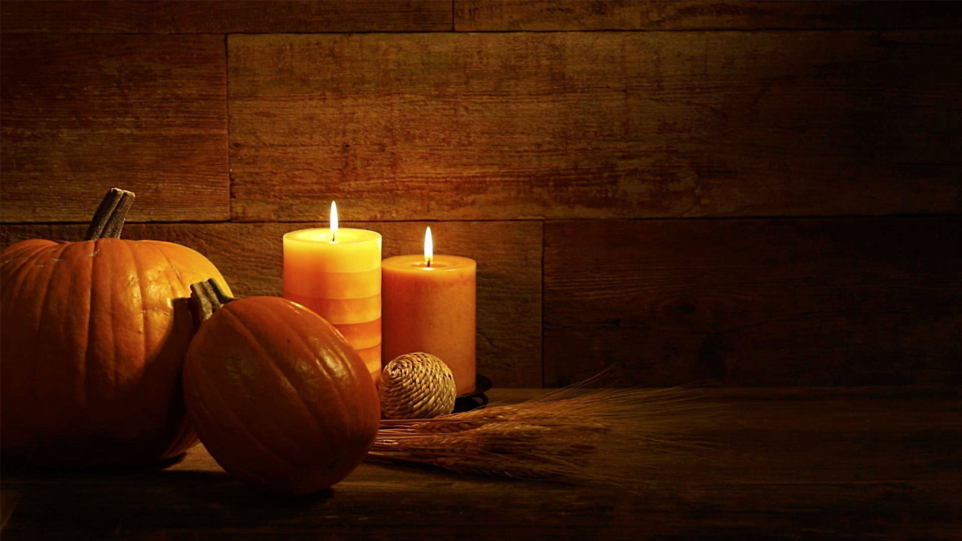 Thanksgiving Candles - Photography & Abstract Background ... |Fall Candles Background